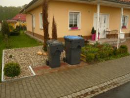 Mülltonnenbox, Müllbox, Metall, Hochwertig, Umhausung,